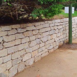 Mur muret parpaings pierres Loctudy Plobannalec Lesconil - Murets