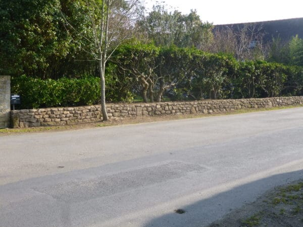 Muret pierres seches 1 - Muret en pierre